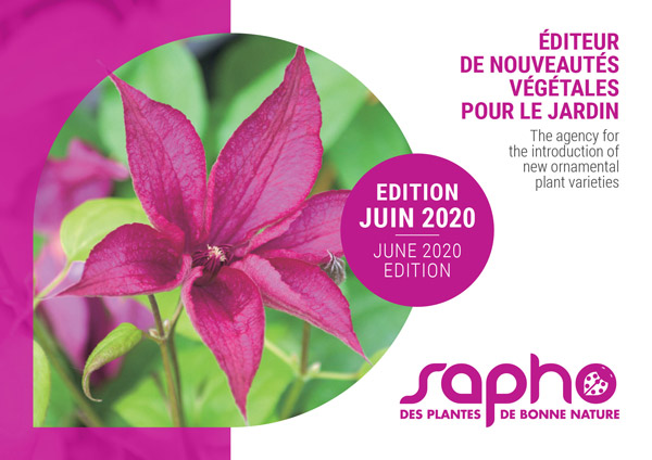 Catalogue Plantes SAPHO Edition 2020